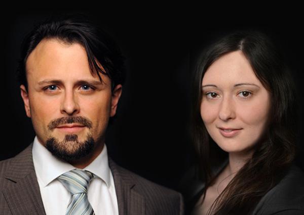Rechtsanwalt Mag Peter Melicharek, TEP und Mag Monika Widmann (Rechtsanwaltsanwärterin)