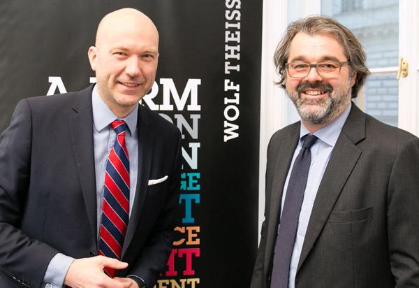 Franz Kühmayer, Trendforscher, geschäftsführender Gesellschafter KSPM und Ralf Peschek, Partner Wolf Theiss, Leiter der Praxisgruppe Employment